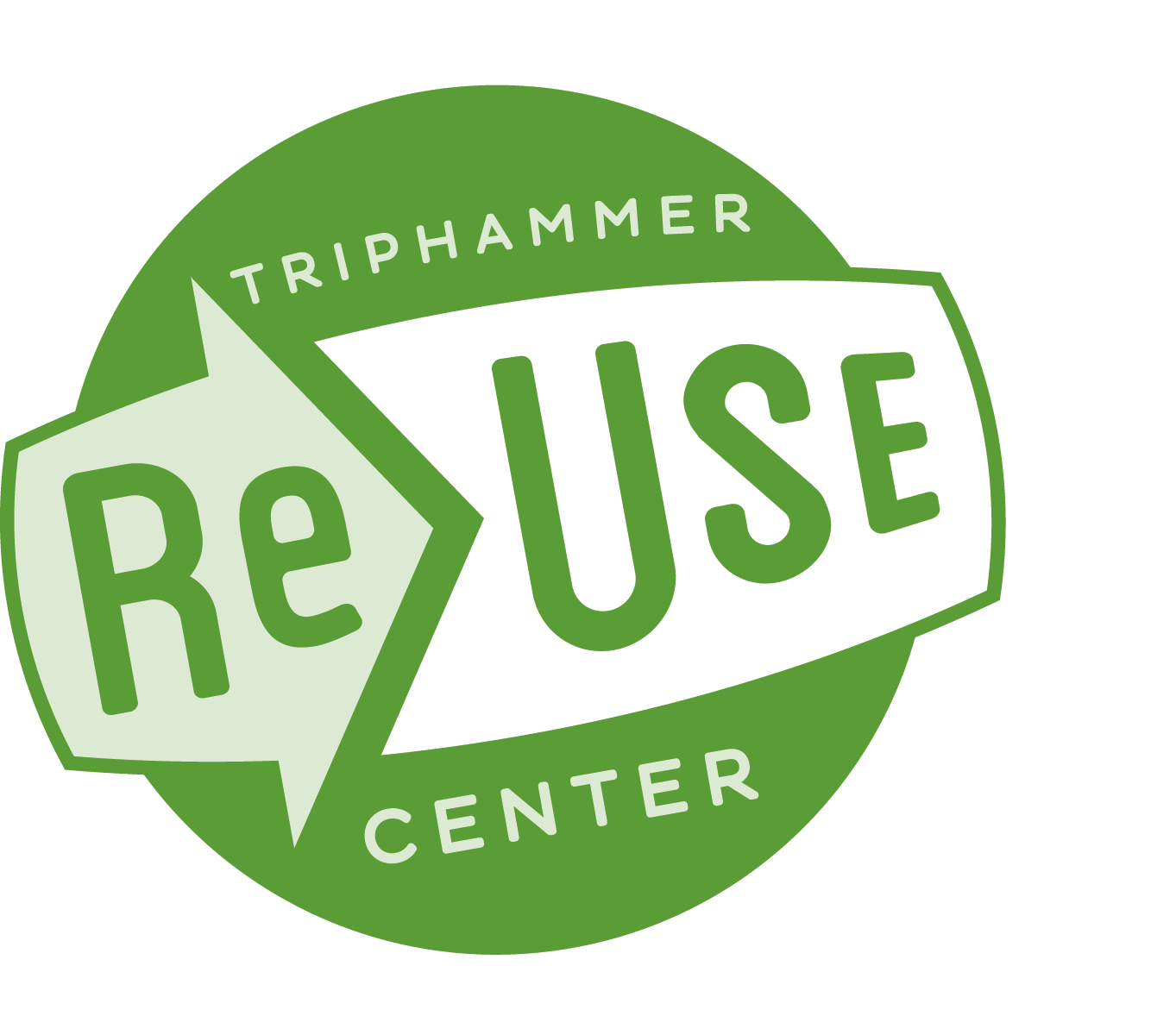 Triphammer ReUse Center Logo/Photo