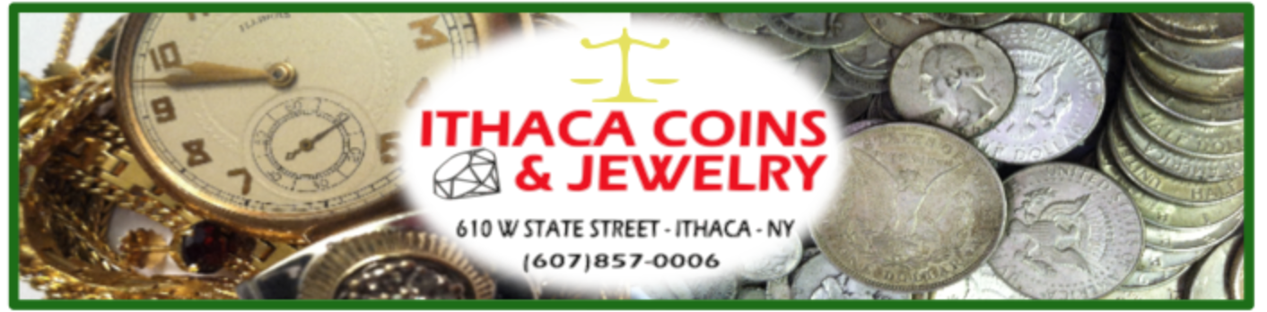 Ithaca Coins and Jewelry Logo/Photo