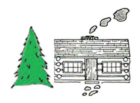 The White Church Cabin Country Store Logo/Photo