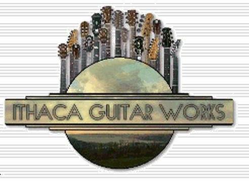 Ithaca Guitar Works Logo/Photo