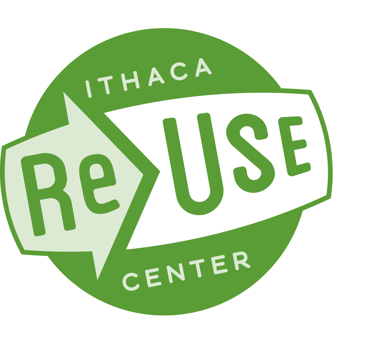 Ithaca ReUse Center Logo/Photo
